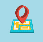 Navigation icon Stock Photography
