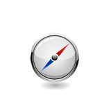 Navigation icon. Vector Royalty Free Stock Image