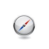 Navigation icon. Vector Royalty Free Stock Image
