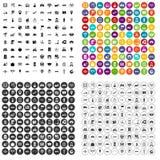 100 navigation icons set vector variant. 100 navigation icons set vector in 4 variant for any web design isolated on white vector illustration