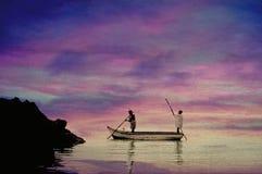 Navigation indigène Photos stock
