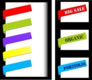 Navigation labels Royalty Free Stock Photo