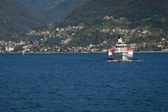 Navigation On Lake Como in Summer Stock Image