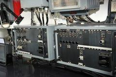 The navigation lights control panel Stock Image