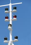 Navigation Lights. Royalty Free Stock Images