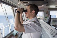Navigation in Meer Stockfotos