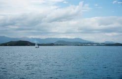 Navigation Nouvelle-Calédonie Photo stock