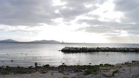 Navigation nuageuse Photographie stock libre de droits