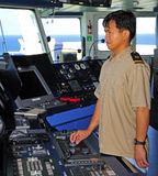 Navigation officer Royalty Free Stock Photos