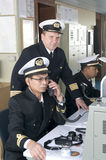 Navigation officers Stock Image