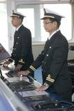Navigation officers Stock Photo