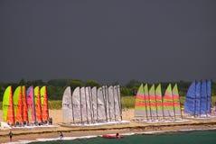 Navigation orageuse Image libre de droits