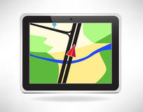 Navigation pad  Stock Images