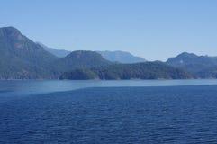 Navigation par le Howe Sound Photographie stock libre de droits