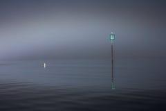 Navigation pole Stock Photo