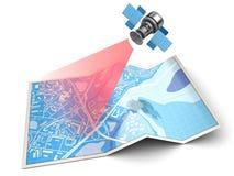 navigation satellite illustration de vecteur