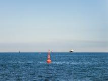 Navigation at sea Stock Images