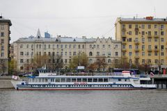 Navigation season opening in Moscow Royalty Free Stock Image