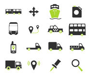 Navigation simply icons royalty free illustration