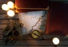 Navigation still life Royalty Free Stock Photography