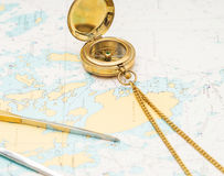 Navigation still-life. Stock Photo