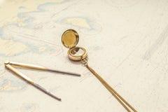 Navigation still-life. Royalty Free Stock Images