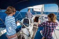 Navigation sur le bateau Image stock