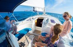 Navigation sur le bateau Photos stock