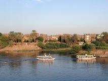 Navigation sur Nile River Image libre de droits