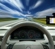 Navigation system Royalty Free Stock Image