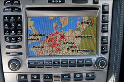Navigation system Stock Photo