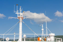 Ships antenna Stock Photography
