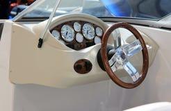Navigation wheel. Boat navigation wheel. Ship navigation wheel Stock Images