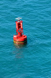 Navigational Buoy In the Ocean Stock Photos