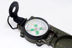navigations- kompass Arkivfoton