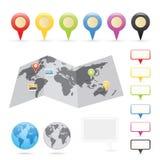 Navigations-Serie Stockfoto