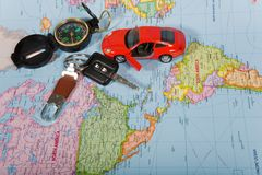 Navigationsanlage Lizenzfreie Stockbilder