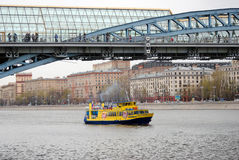 Navigationsjahreszeitöffnung in Moskau Lizenzfreie Stockbilder