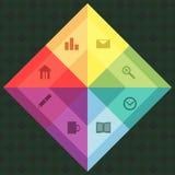 Navigationsplatte Lizenzfreies Stockfoto