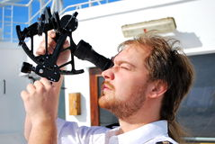 Navigator Royalty Free Stock Images