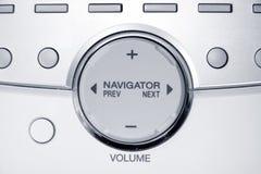 Navigator button Royalty Free Stock Photos