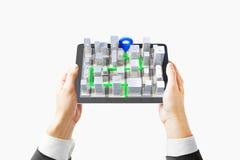 navigatore 3D Fotografie Stock Libere da Diritti