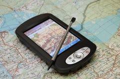 Navigatore di GPS Fotografia Stock