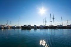 Navigazione da diporto in Grecia Immagine Stock Libera da Diritti
