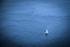 Navigazione del catamarano Fotografia Stock
