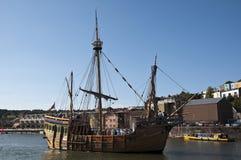 Navigazione del Matthew a Bristol Fotografie Stock Libere da Diritti