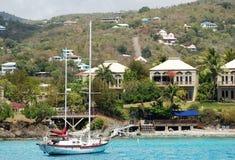 Navigazione dell'isola di St.John Immagini Stock