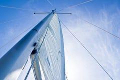Navigazione dell'oceano fotografie stock