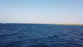Navigazione dell'yacht sul mare marino aperto Barca di navigazione Video di navigazione da diporto Video di navigazione Navigazio archivi video