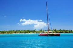 Navigazione della barca Fotografia Stock Libera da Diritti